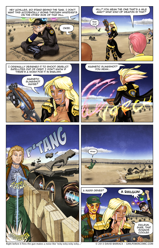 Grrl Power #165 – How to pop the wheels on a tank