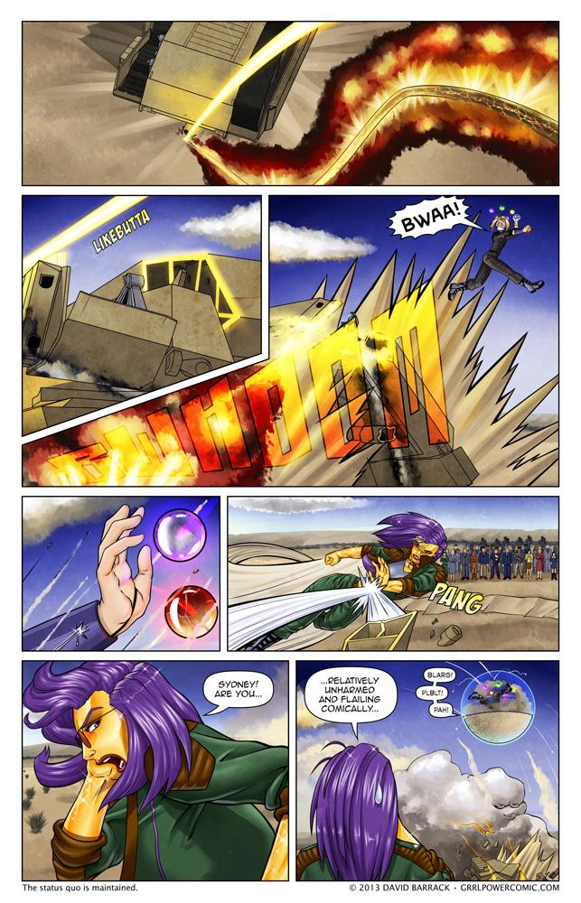 Grrl Power #168 – A harsh lesson in orb management