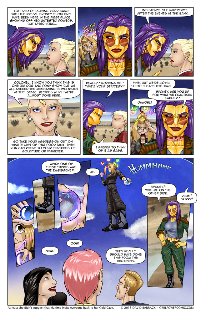 Grrl Power #170 – Serve and protect… eventually
