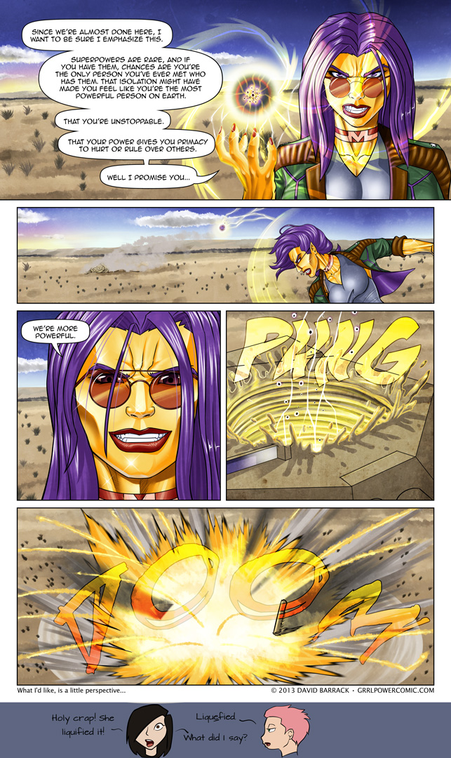 Grrl Power #172 – One and done