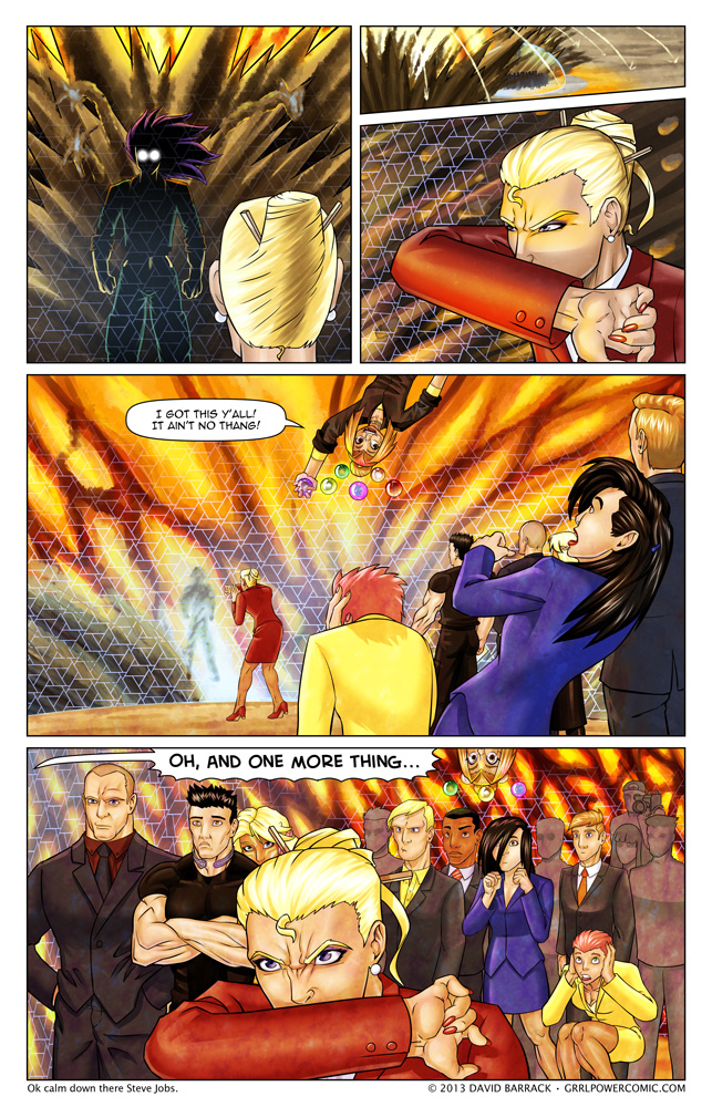 Grrl Power #174 – You got your explosion all over my press conference