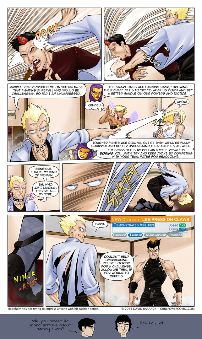 Grrl Power #211 – Battle Royale boredom