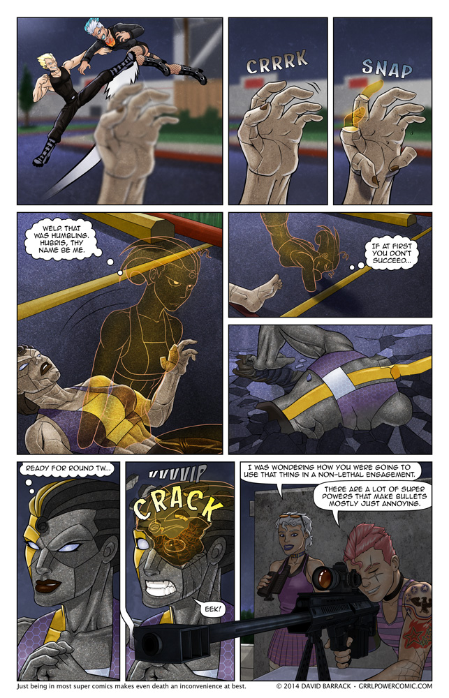 Grrl Power #216 – .50 caliber headache