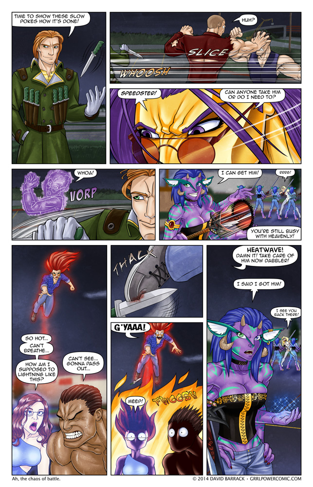 Grrl Power #219 – Mach the knife