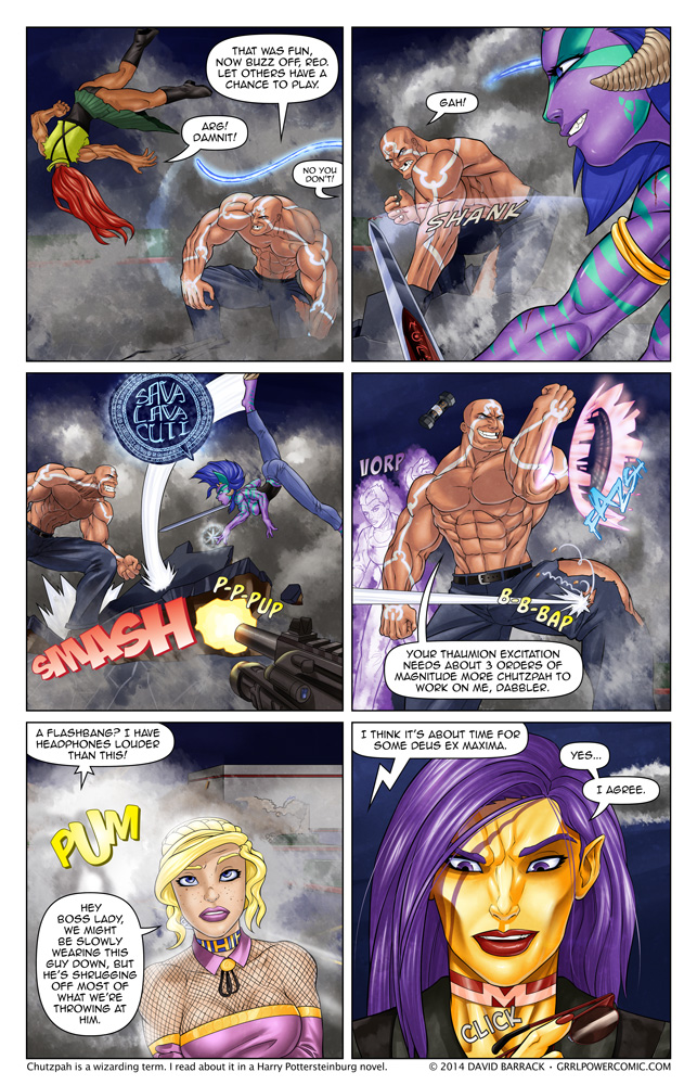 Grrl Power #256 – Tactical shift