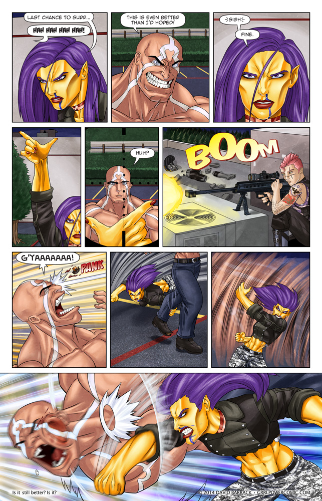 Grrl Power #259 – Dirty pool