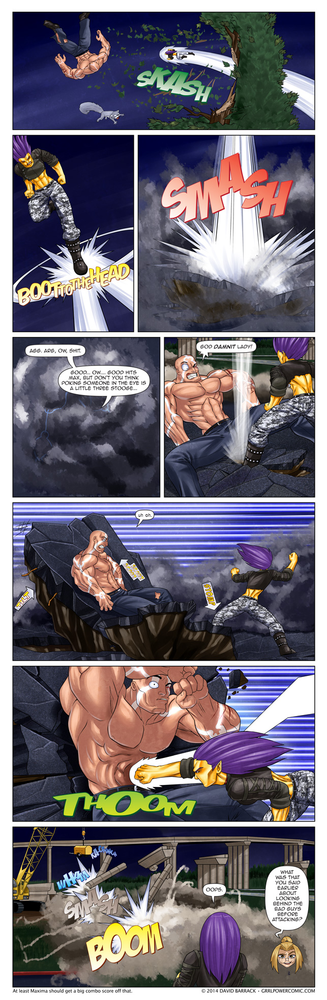 Grrl Power #260 – Adding injury to injury