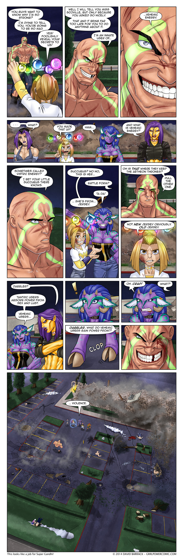 Grrl Power #264 – The team receives some bad news -OR- Oh crap is right