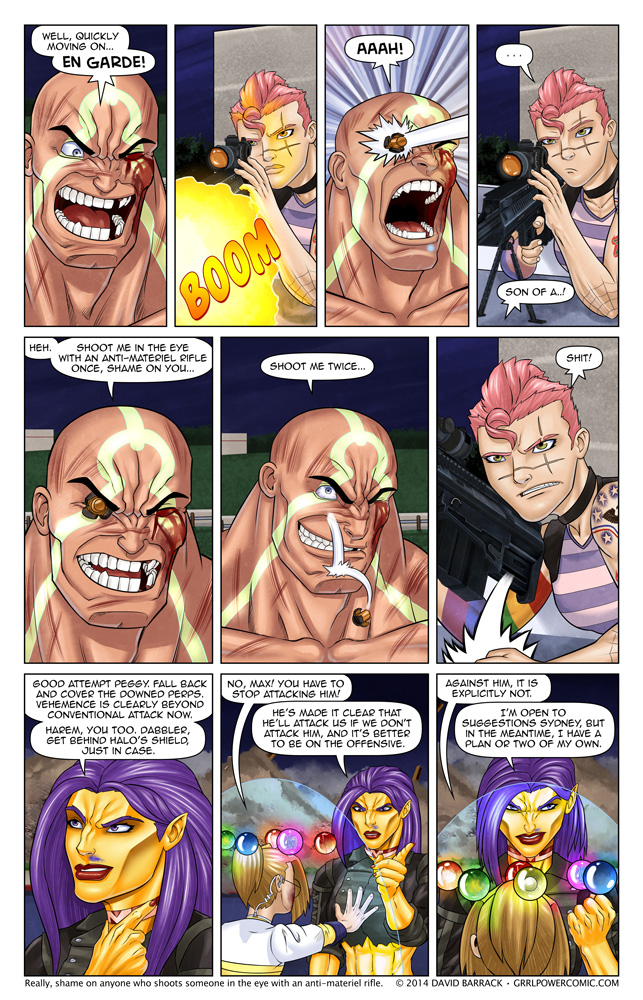Grrl Power #269 – Made you flinch