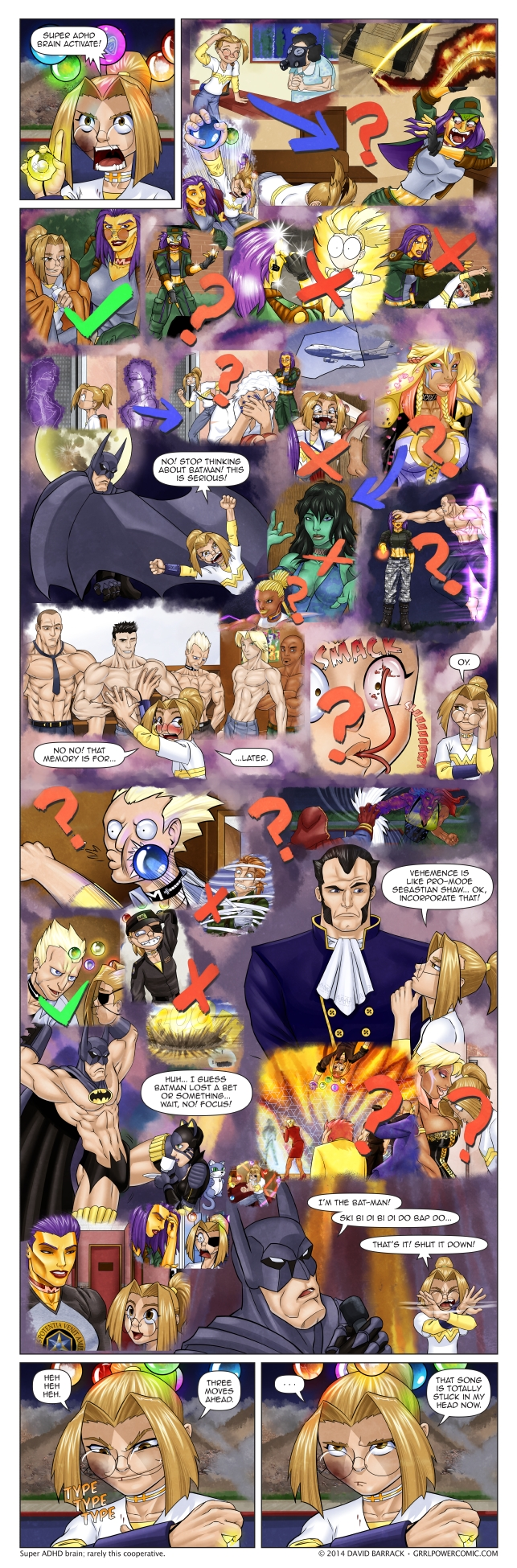 Grrl Power #278 – Alarmingly Disorderly Harnessing of Doom