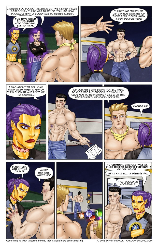 Grrl Power #289 – Misunderstandable