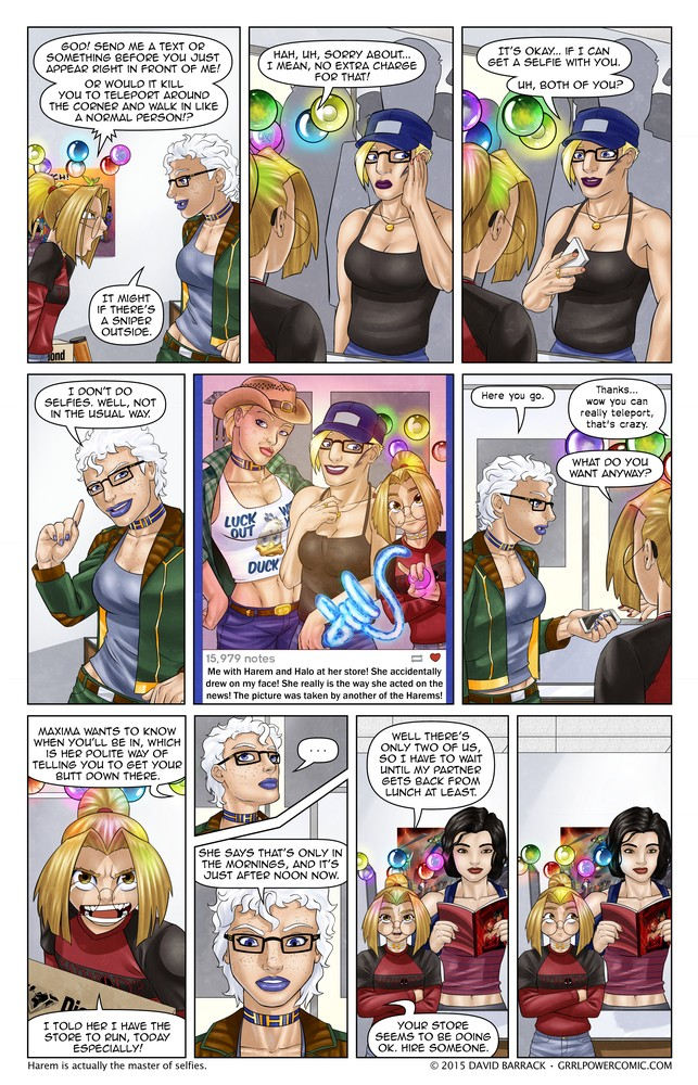 Grrl Power #305 – The Harem relay