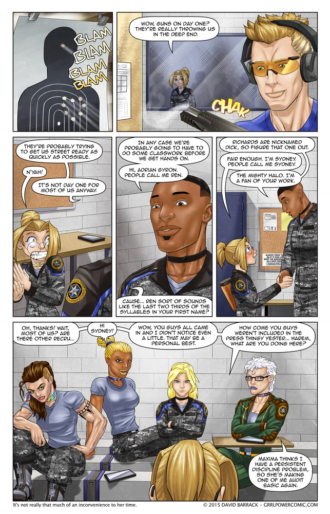 Grrl Power #320 – Don't call it sidekick school