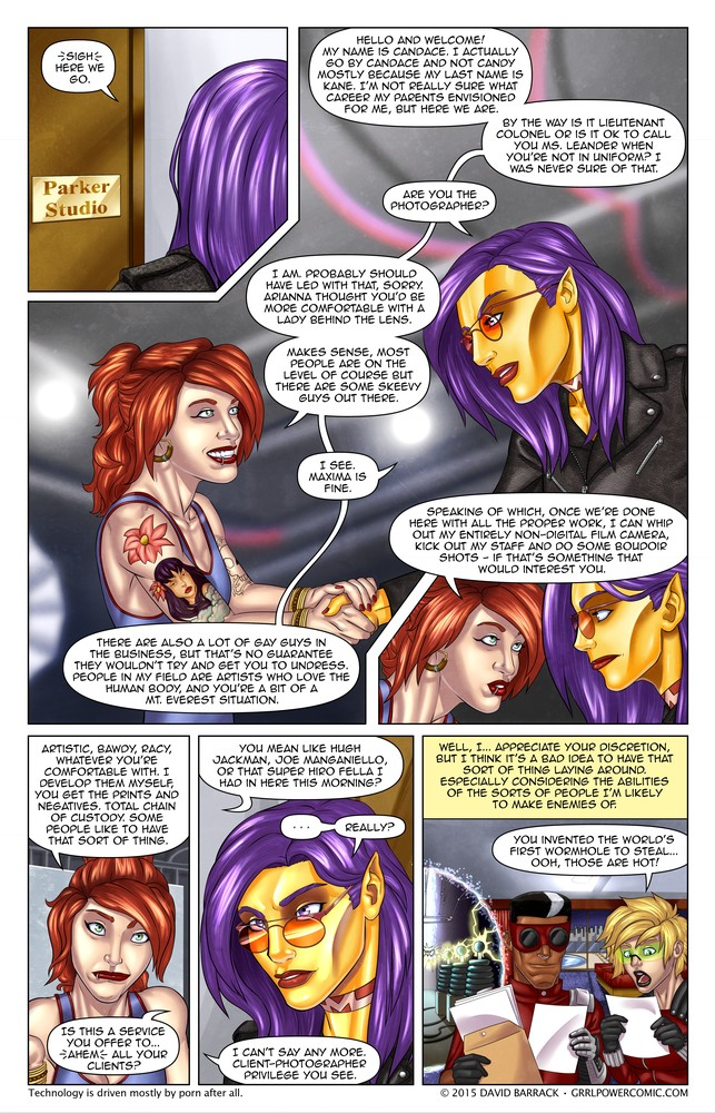 Grrl Power #333 – My (golden) angel (of destruction) is the centerfold