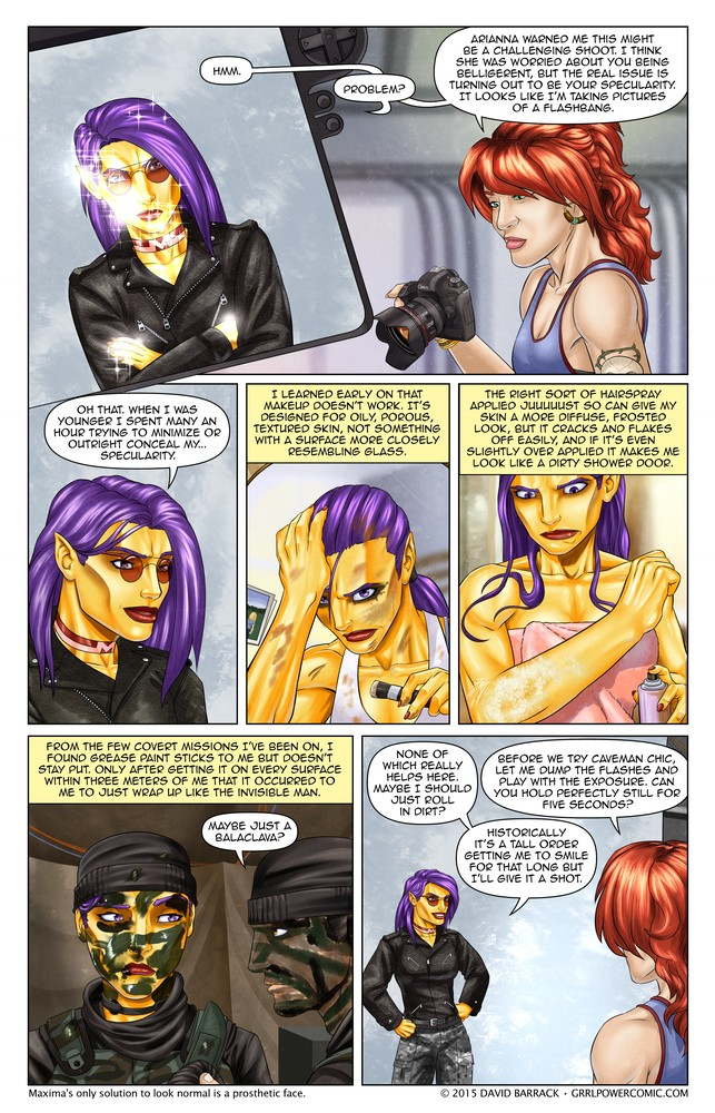 Grrl Power #334 – Make down