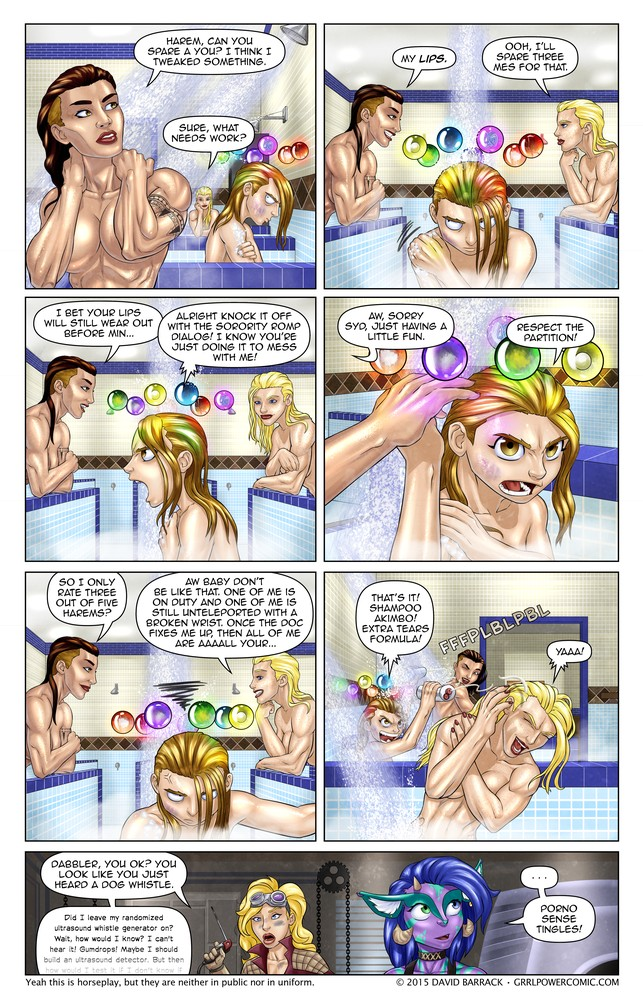 Grrl Power #338 – Bawdville act