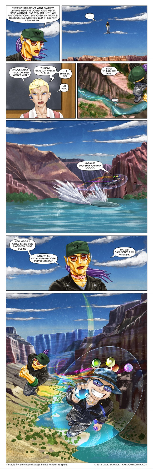 Grrl Power #355 – Aerial areal detour