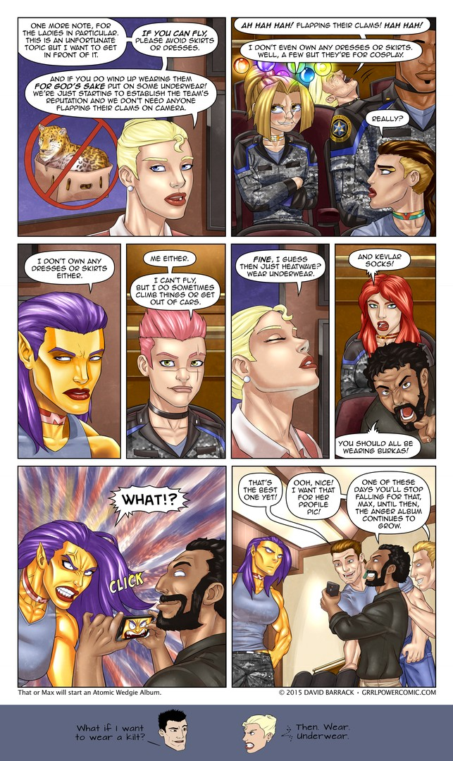 Grrl Power  #365 – The actual most dangerous game