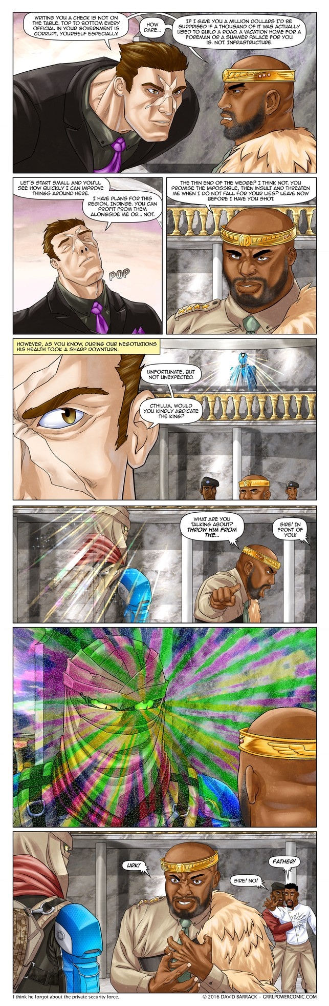 Grrl Power #389 – Interview to a kill