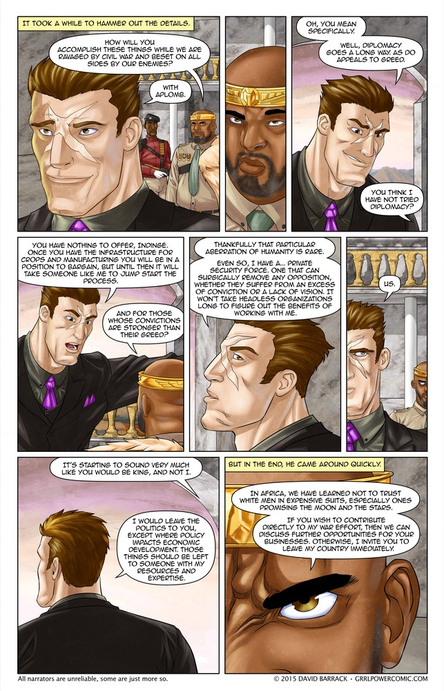 Grrl Power #388 – Delicate negotiations