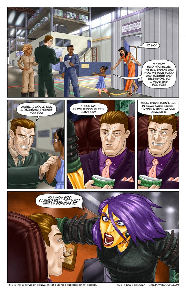 Grrl Power #413 – Green herring