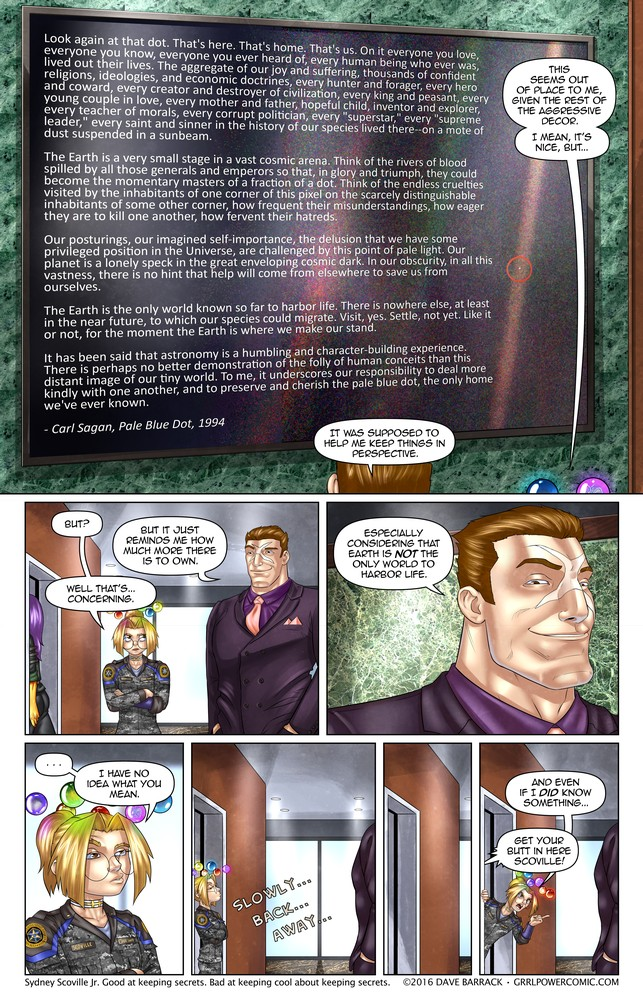 Grrl Power #417 – Gravitas check