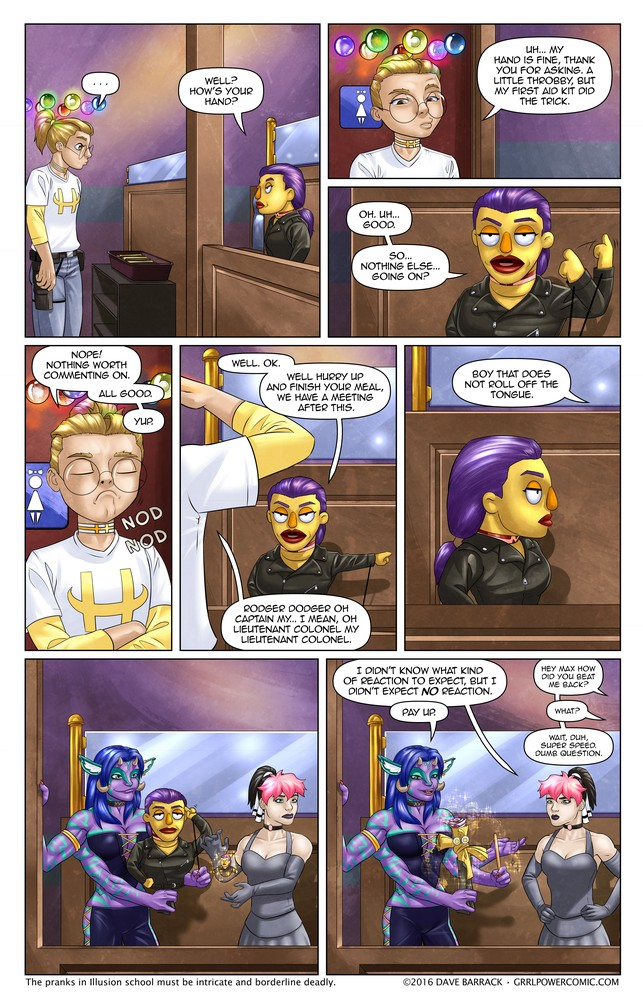 Grrl Power #437 – I hope Dabbler gave odds
