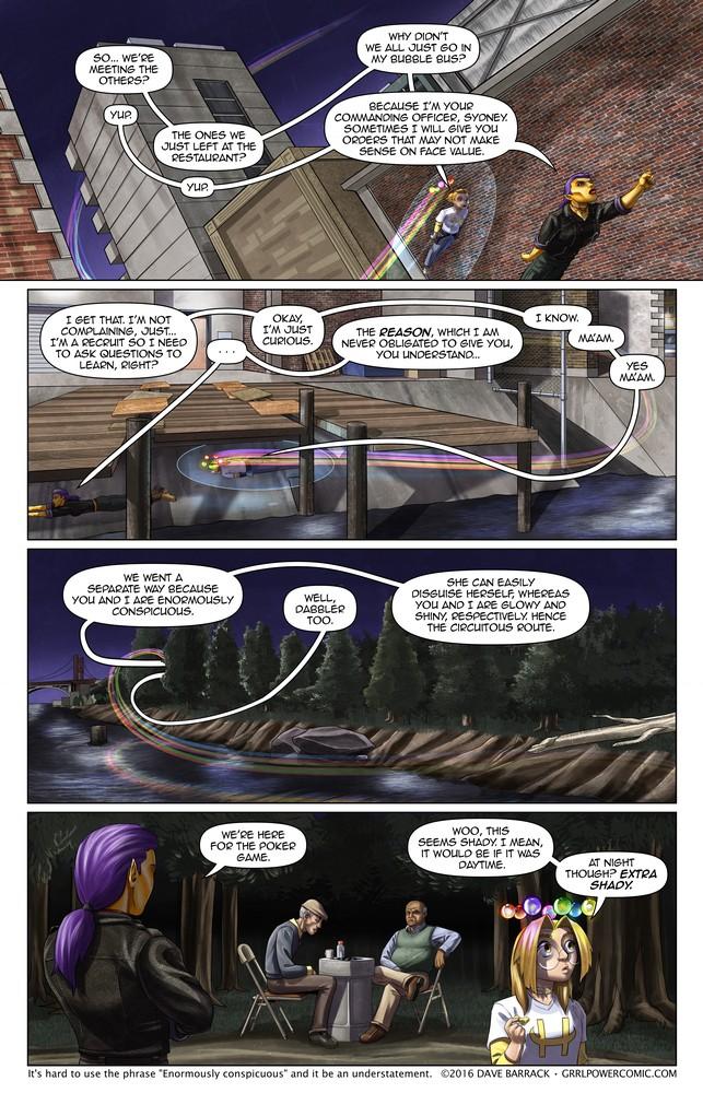Grrl Power #438 – Umbrageous rendezvous
