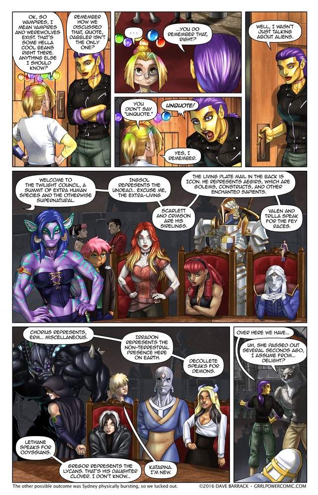 Grrl Power #443 – League of extra-atypical gentlemen (and ladies)