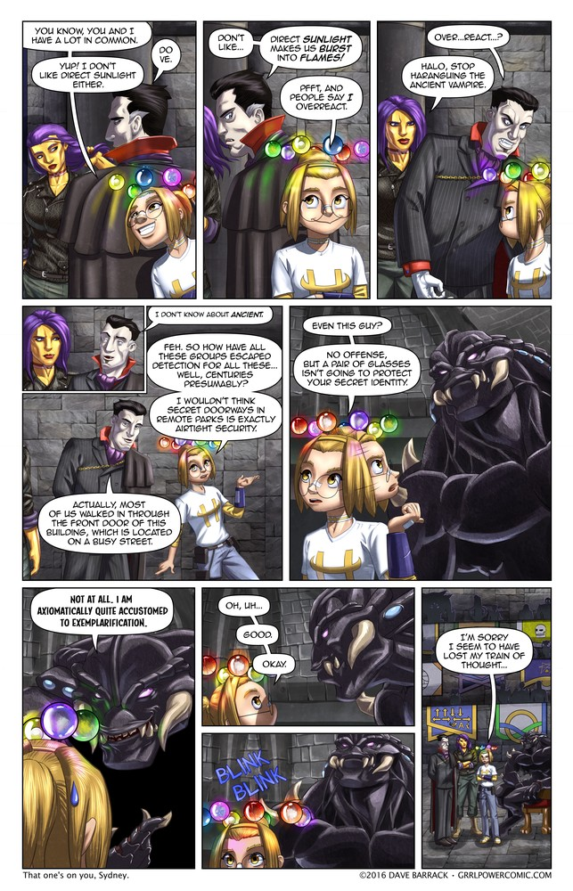 Grrl Power #454 – Monster shock