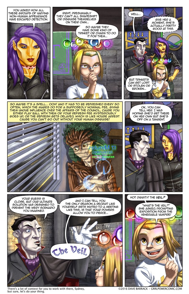 Grrl Power #455 – Pre-position