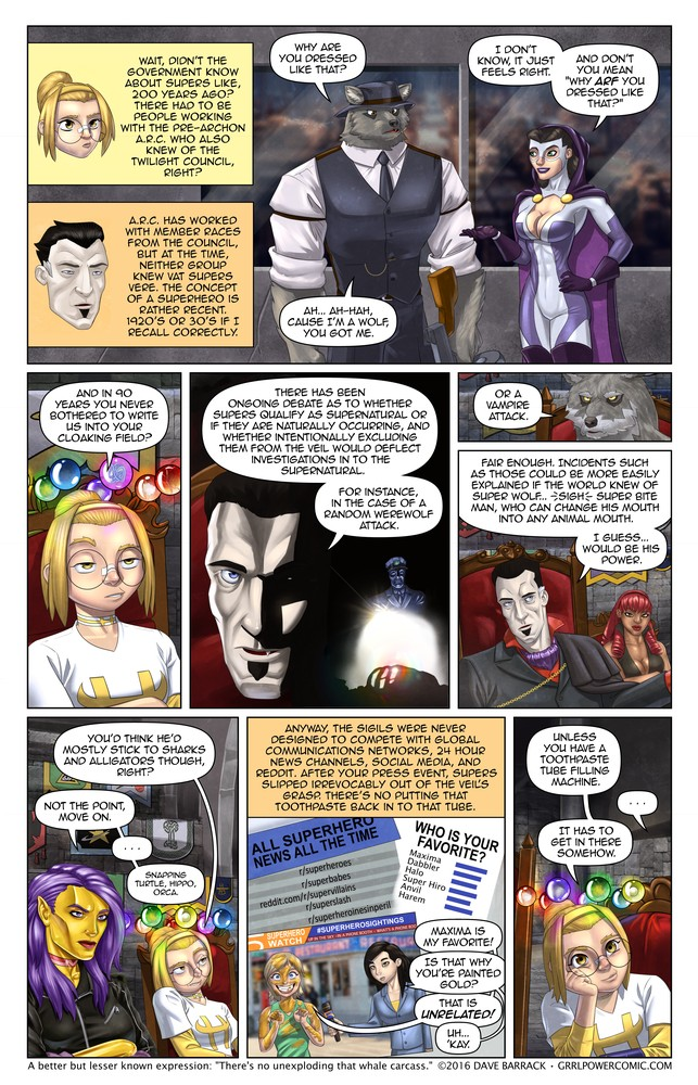 Grrl Power #460 – Super misdirection