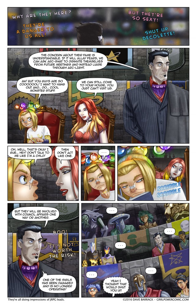 Grrl Power #463 – The crux