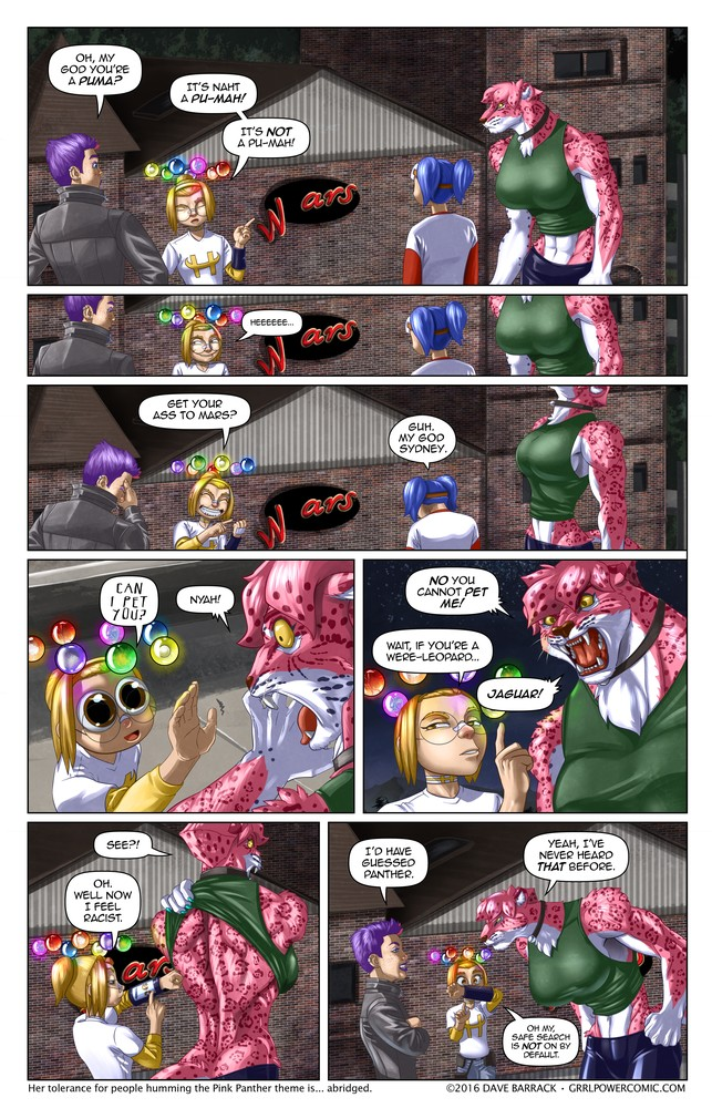Grrl Power #493 – MisidentifiCATion