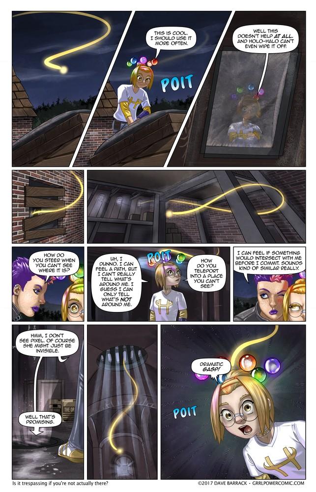 Grrl Power #497 – Path finding