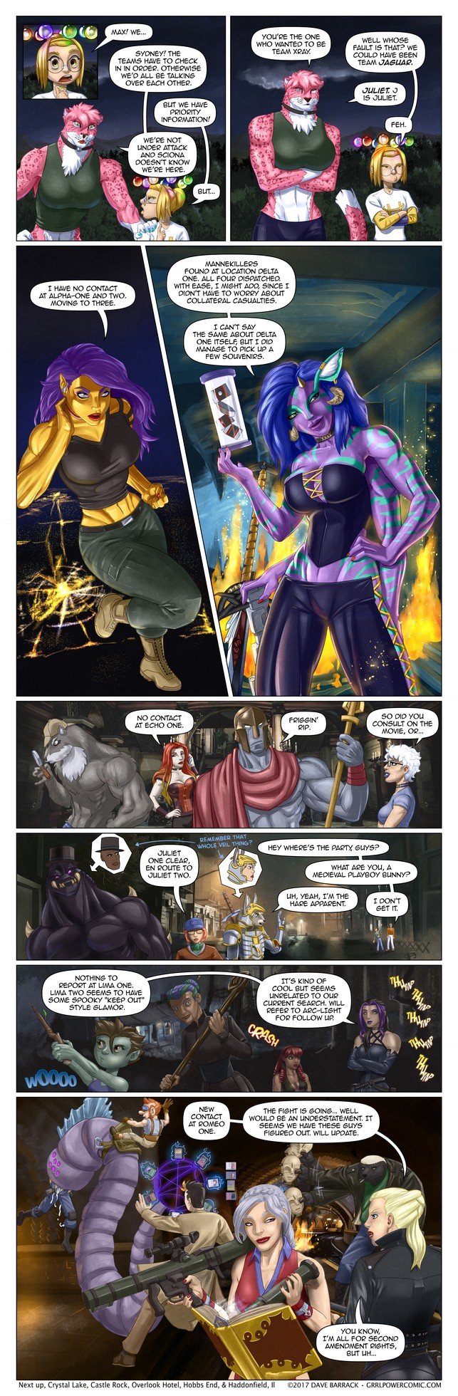 Grrl Power #505 – Team sweep