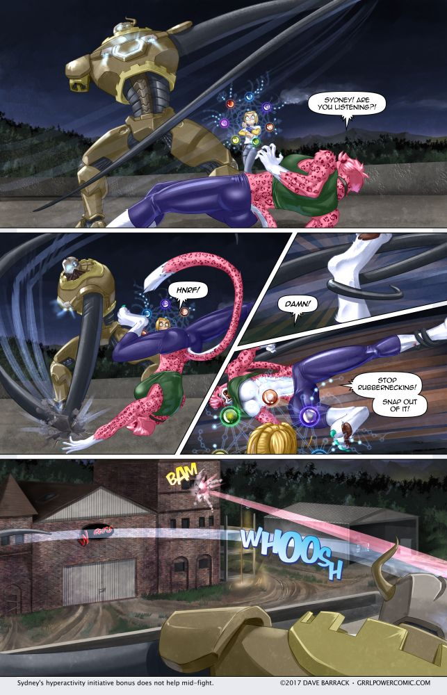Grrl Power #509 – Pink streak