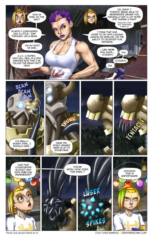 Grrl Power #513 – Robo regen