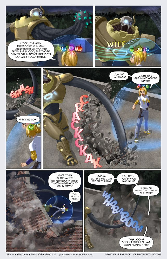 Grrl Power #514 – Concrete knuckles