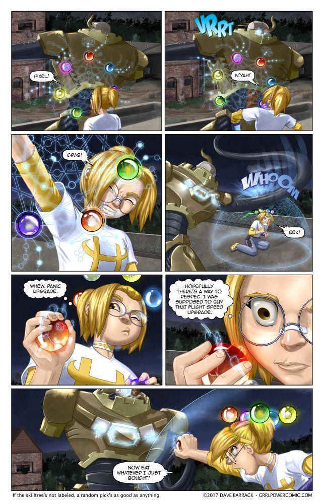 Grrl Power #510 – Maybe it's a cupcake beam