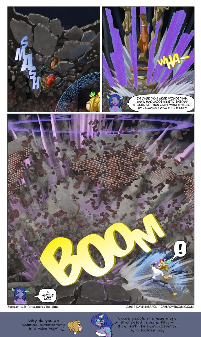 Grrl Power #517 – Here comes the Wha-Boom