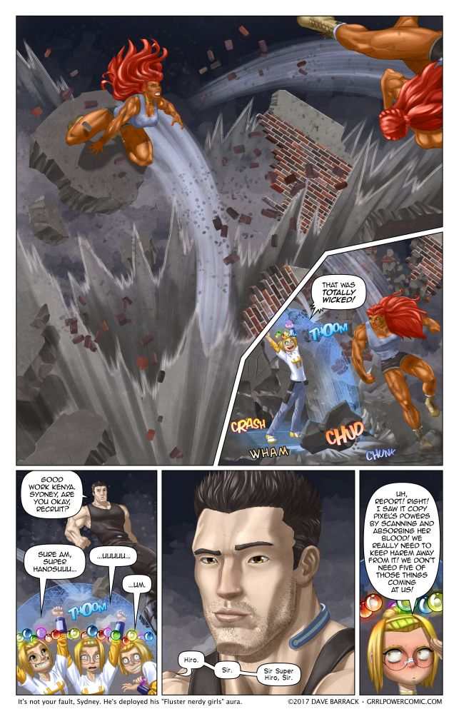 Grrl Power #518 – Foot in mouth flare up