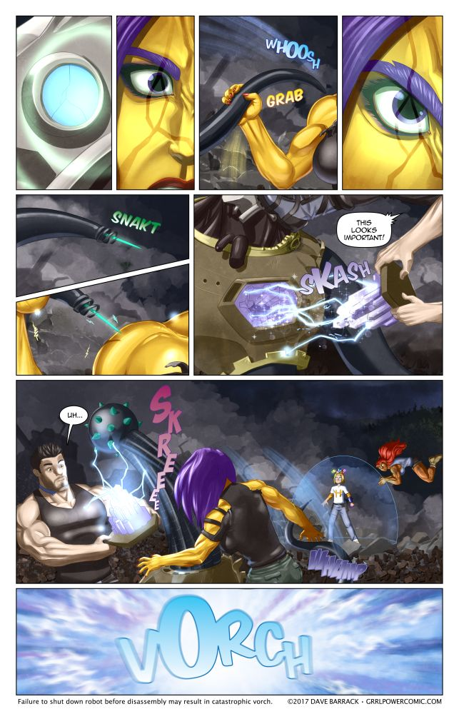 Grrl Power #520 – From distress to datstress
