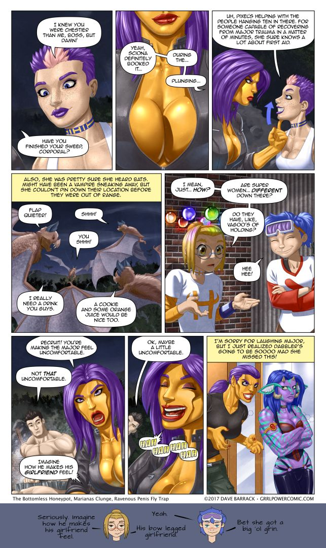 Grrl Power #524 – Importinent questions