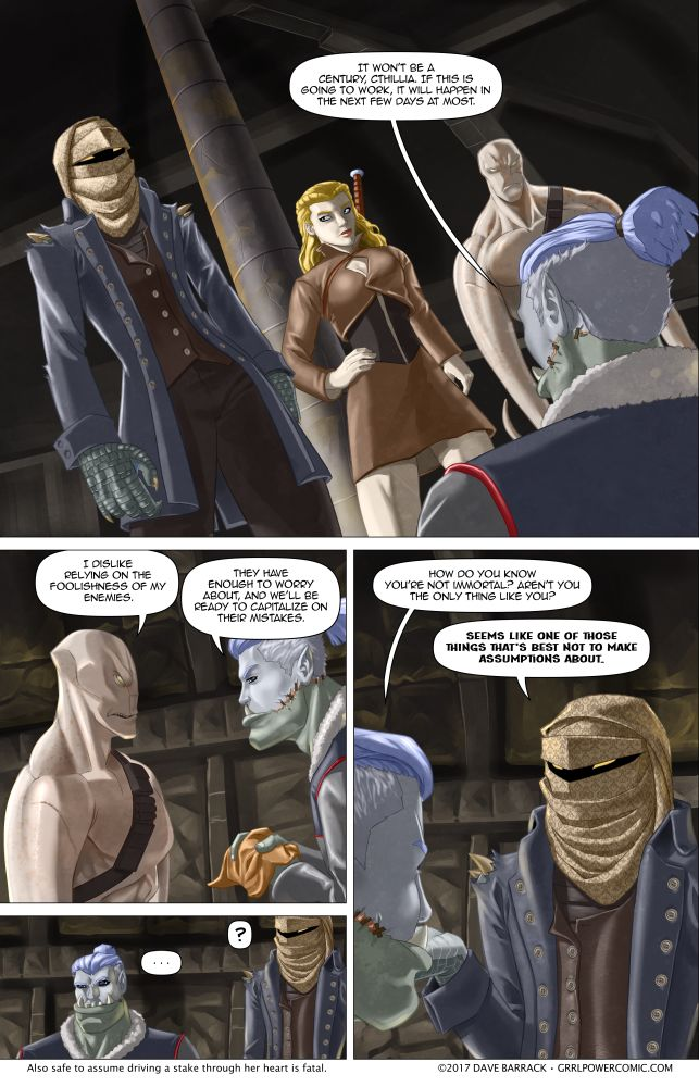 Grrl Power #530 – Axis of uncertainty