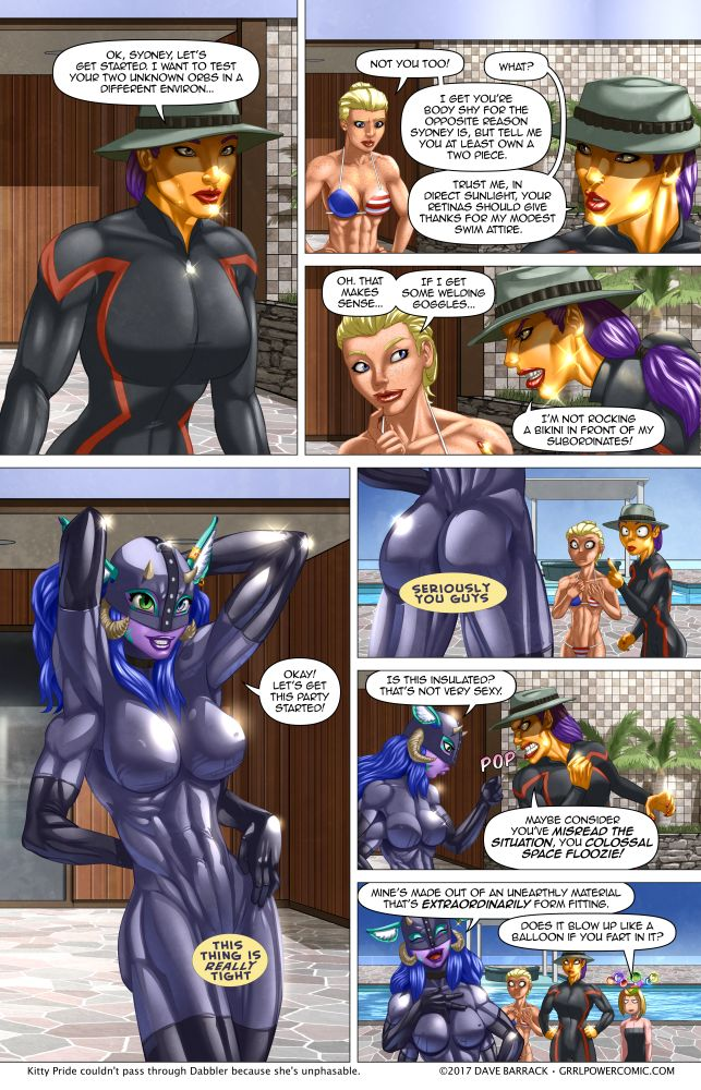 Grrl Power #536 – Dressed to compress