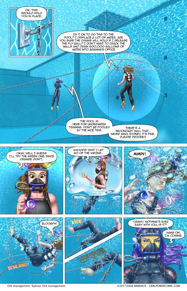 Grrl Power #540 – Bubble trouble