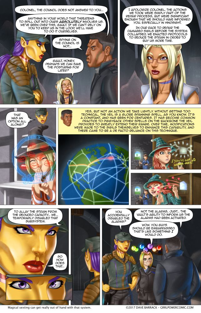 Grrl Power #554 – Mega culpa – OR – Sapphic witch kisses