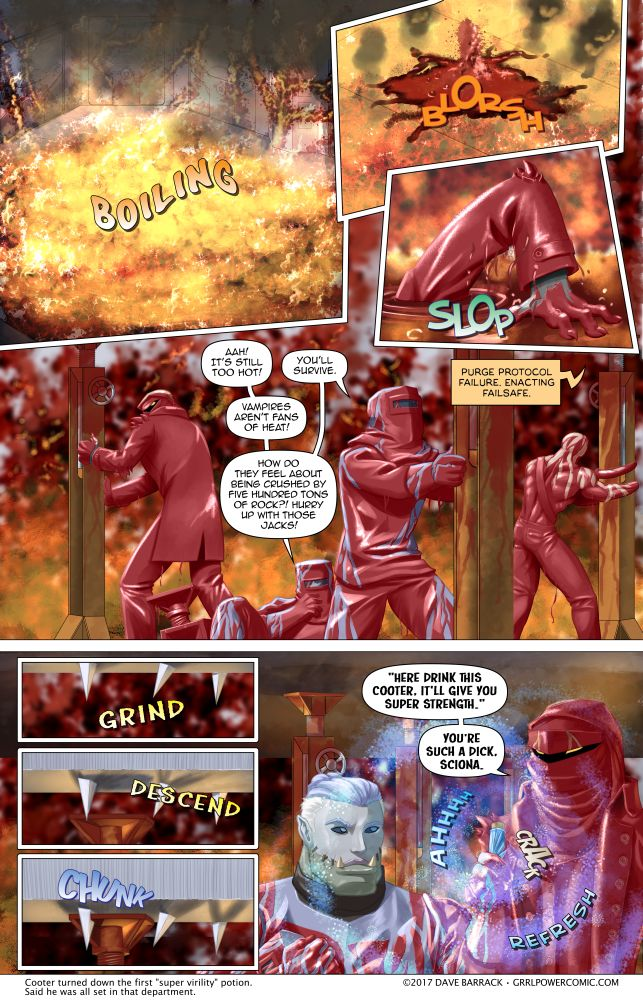 Grrl Power #564 – It's time to play Beat. That. Deathtrap!