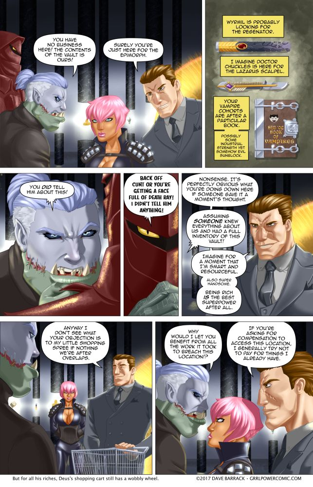 Grrl Power #567 – Zero sum shopping